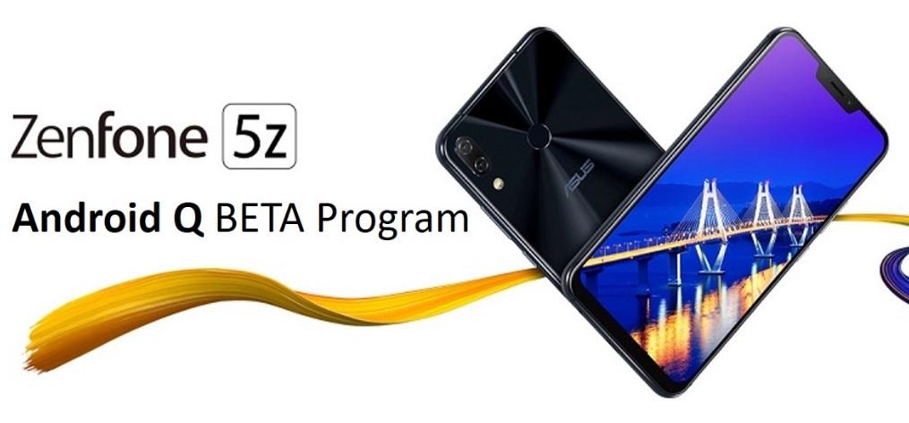 Asus ZenFone 5Z con Android Q Beta