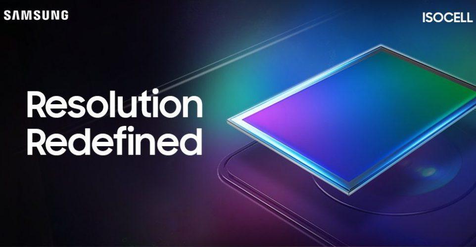 Cámara de 108MP Isocell Bright HMX Samsung