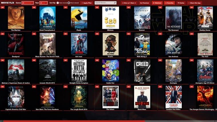Mejores páginas para descargar series gratis-movieflix