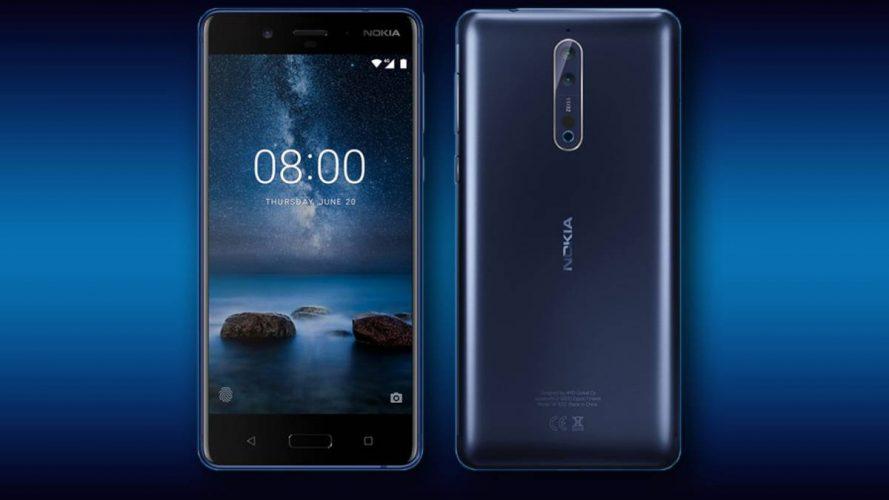 Nokia 3 Nokia 8 actualización parches de seguridad