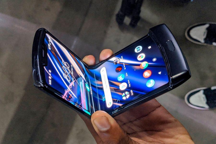Motorola Razr características pantalla