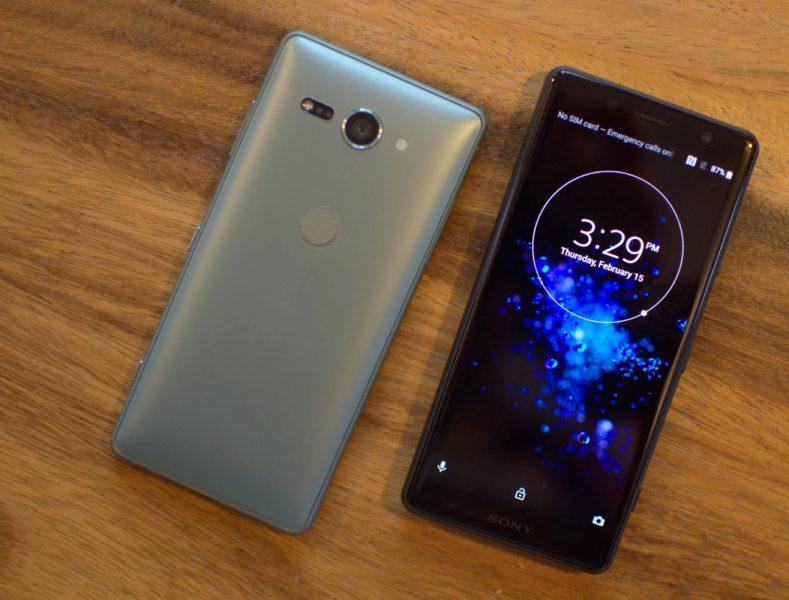 Teléfonos Sony con Android 10 Xperia XZ2 Compact