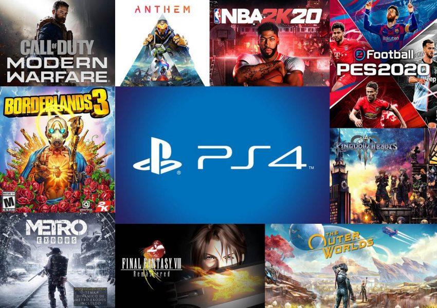Juegos de PS4 en ofertas en Navidad