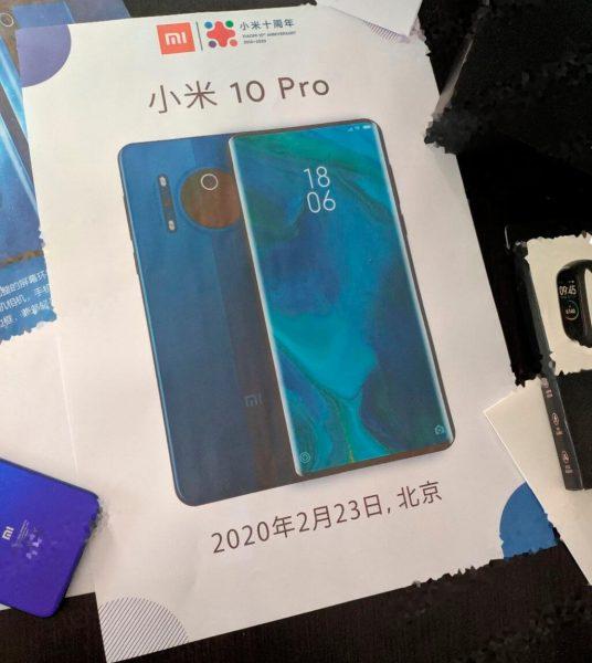 Diseño del Xiaomi Mi 10 Pro cámaras