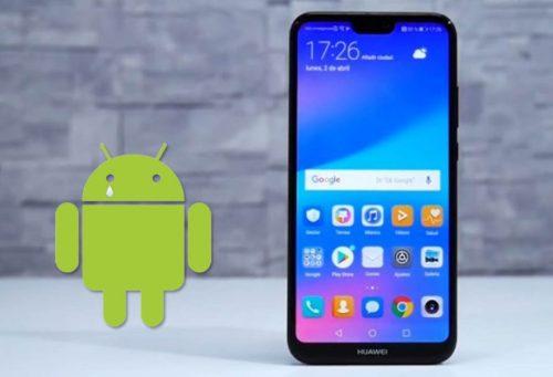 El Huawei P20 Lite, Y9 (2018) y Honor 9 no recibirán Android 10 oficialmente