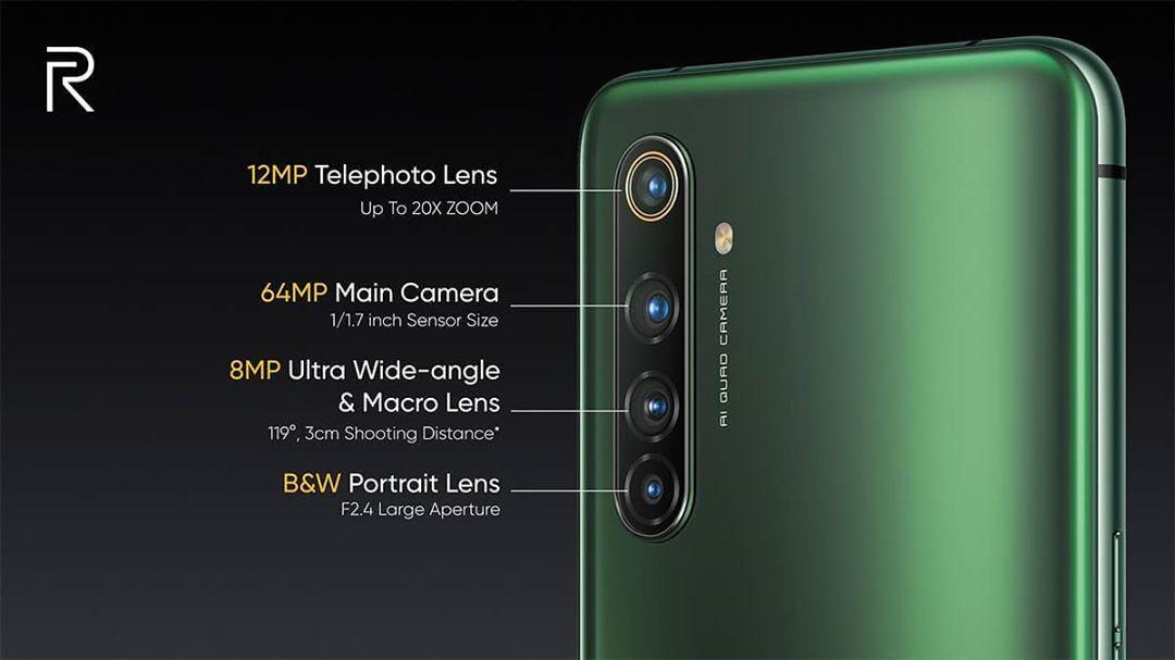 Realme X50 Pro 5G-camaras