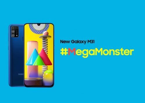 Samsung Galaxy M31: cámara trasera cuádruple y batería de 6.000 mAh