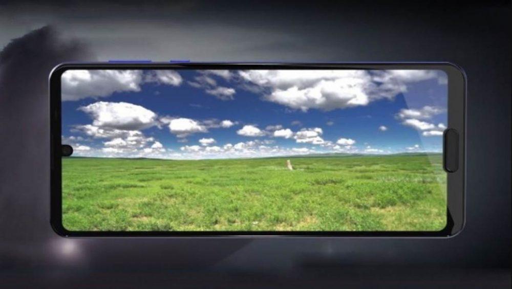 Sharp Aquos R5G características pantalla