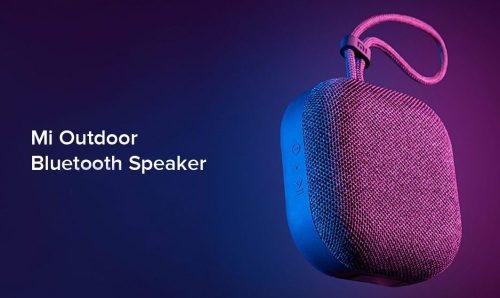 Conoce el Mi Outdoor Bluetooth Speaker: nuevo altavoz inalámbrico de Xiaomi