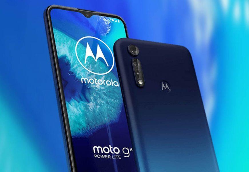 Motorola Moto G8 Power Lite filtrado