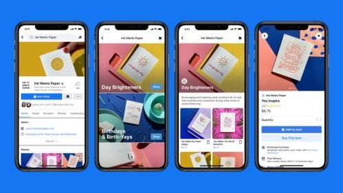 Conoce Facebook Shops, la nueva manera de vender en línea