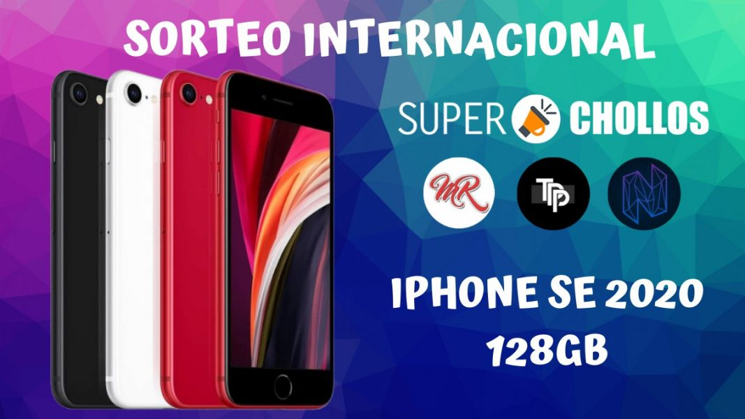 Sorteo internacional iPhone SE 2020