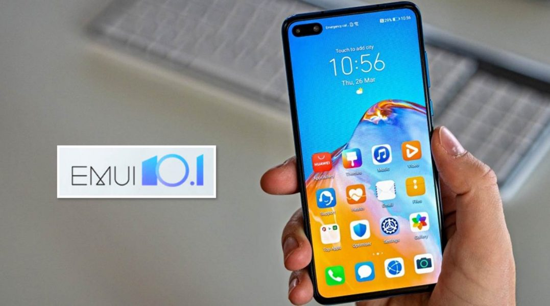 Móviles Huawei con EMUI 10.1 estable global