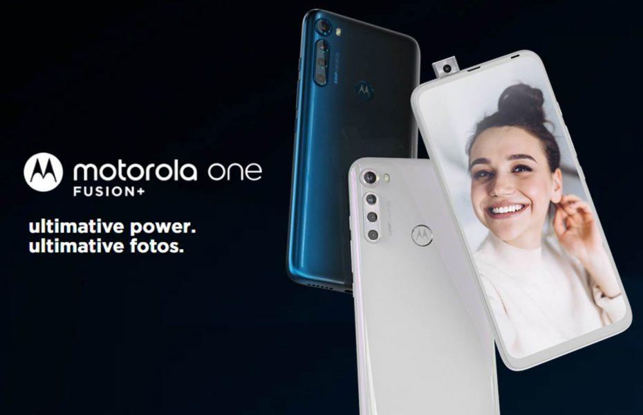 Motorola One Fusion+ oficial, especificaciones y precio