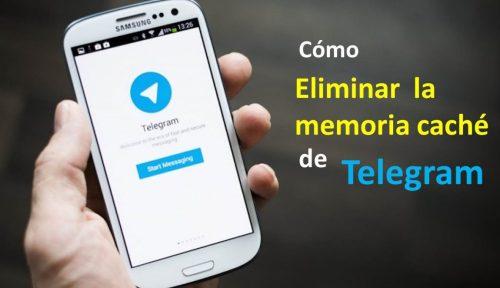 Cómo eliminar la memoria caché de Telegram