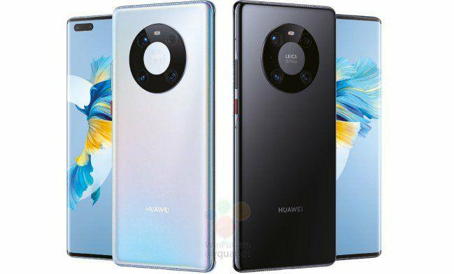 Diseño del Huawei Mate 40 Pro, características