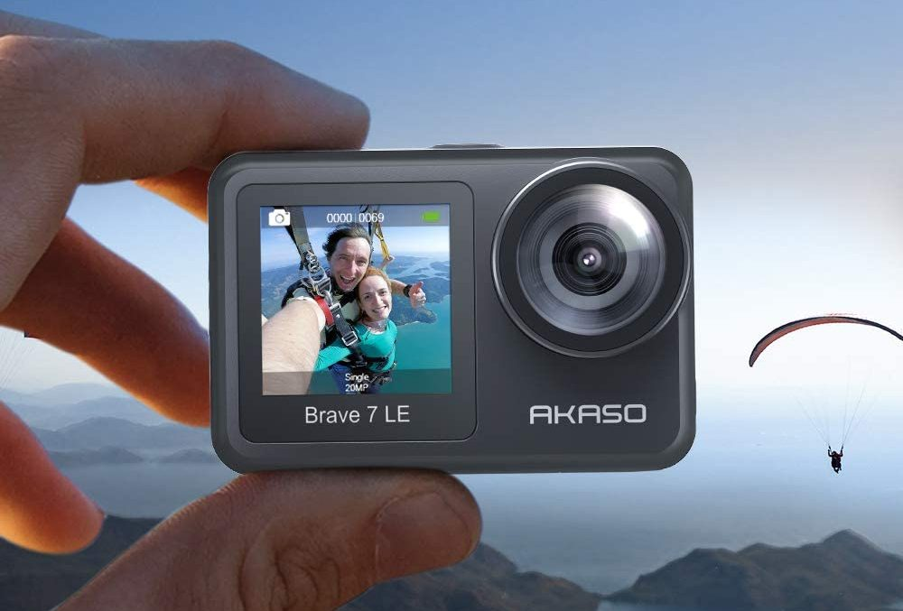 Review cámara deportiva AKASO Brave 7 LE, impresiones