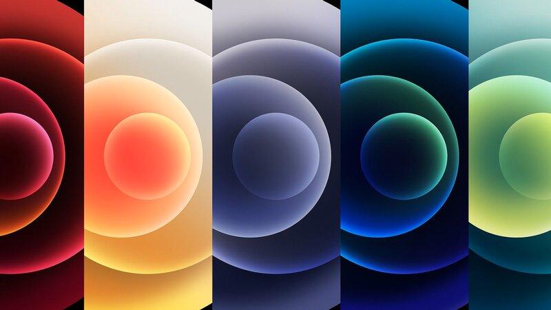 Wallpapers de los iPhone 12