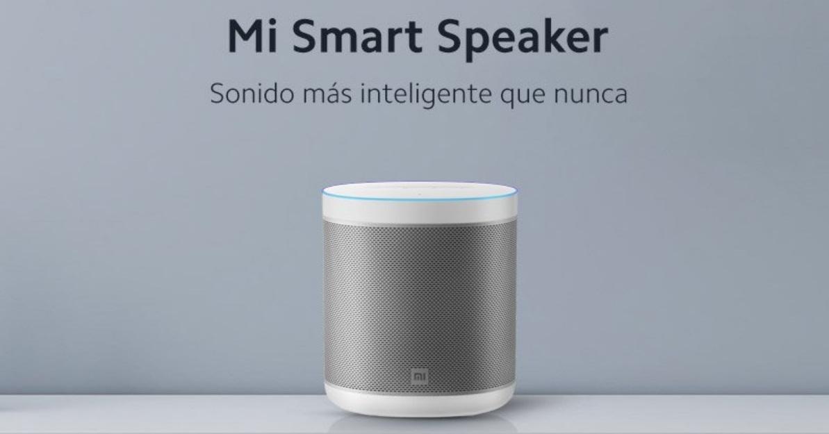 Xiaomi Mi Smart Speaker en España características y precio