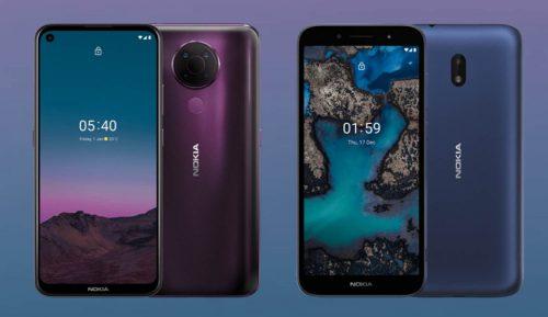 Nokia 5.4 y C1 Plus: Características de dos nuevos móviles muy distintos