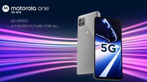 Nuevo Motorola One 5G Ace: gama media destacado en autonomía y conexión