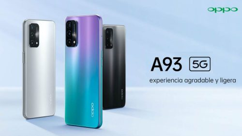 Nuevo Oppo A93 5G: móvil económico con gran batería y conexión 5G