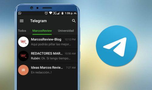 Cómo crear carpetas en Telegram para organizar mejor tus chats