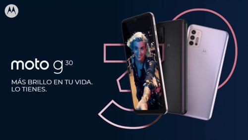 Nuevo Motorola Moto G30 con gran batería y pantalla de 90Hz