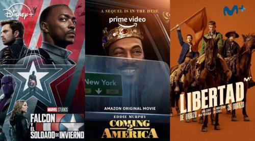 Estrenos de series y películas en marzo 2021: Disney+, Prime Video y Movistar+