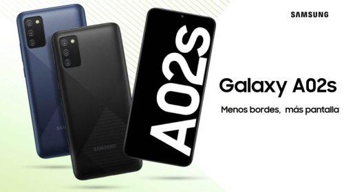 Ya puedes comprar el Samsung Galaxy A02s en España, nuevo móvil barato