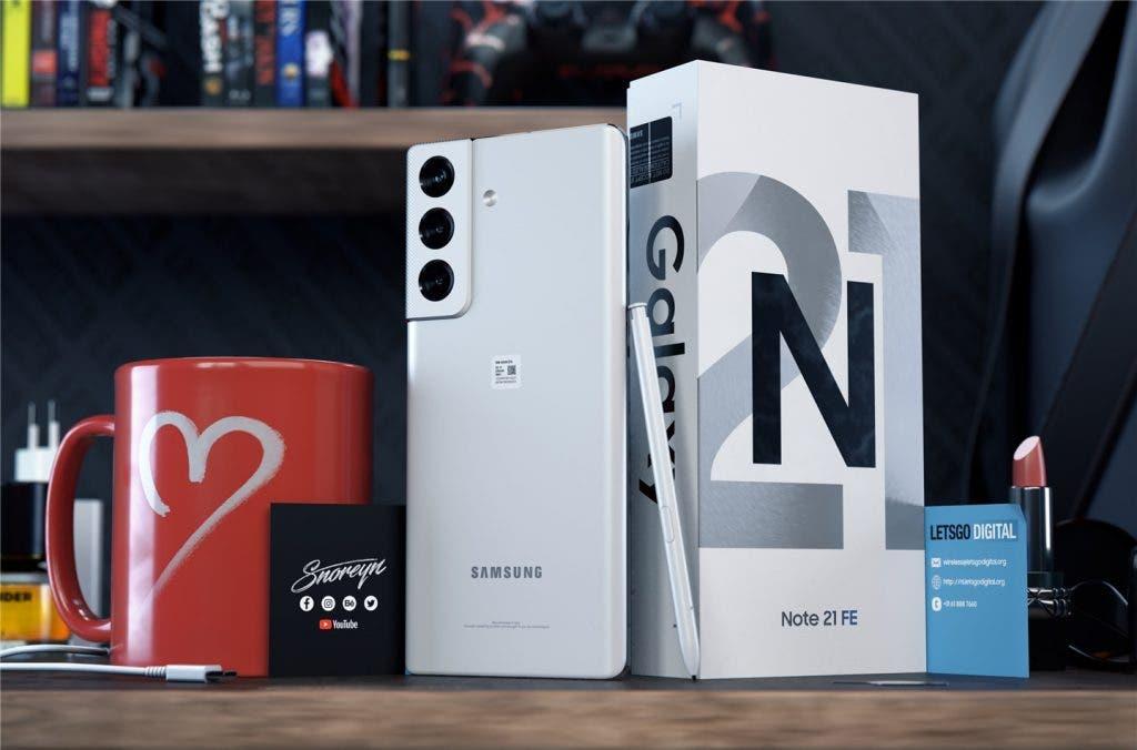 smartphones de Samsung-Samsung Galaxy Note 21 FE