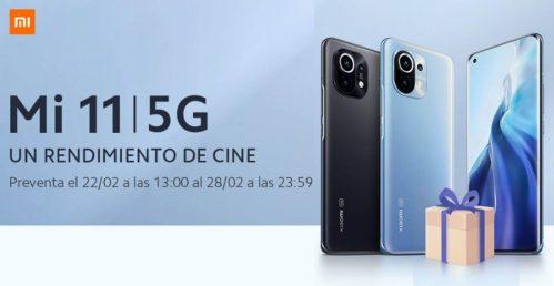 ¡Ya disponible el Xiaomi Mi 11 en España! Con regalo incluido