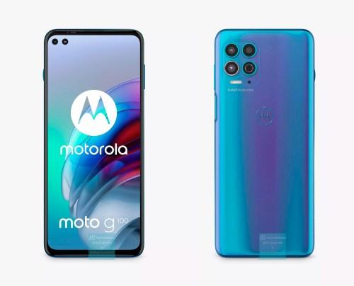 Motorola G100 en imágenes reales antes su inminente lanzamiento