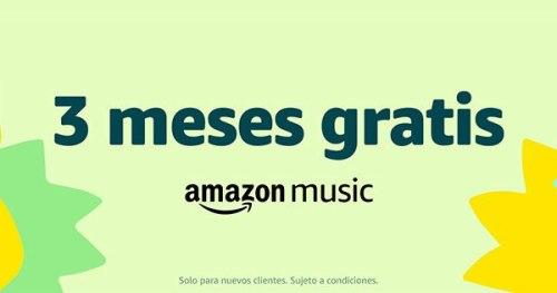 Aprovecha los 3 meses gratis de Amazon Music Unlimited