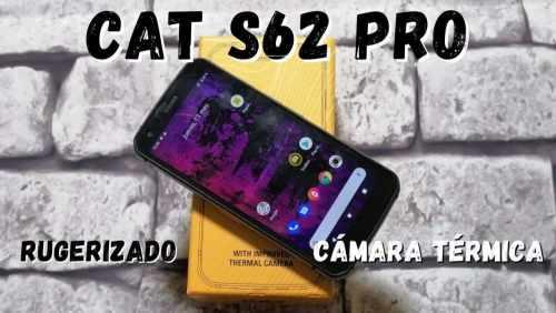 CAT S62 PRO: un smartphone con cámara térmica