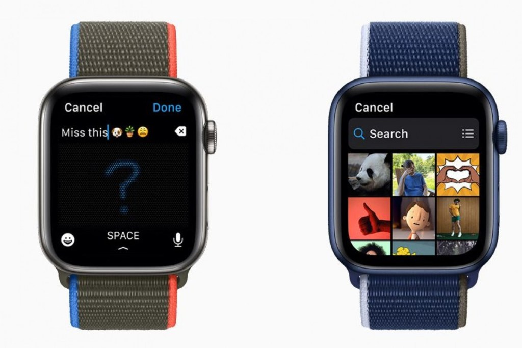 Características de watchOS 8 Apple watch Fotos
