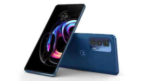Motorola Edge 20 Pro el insignia de la firma con más potencia