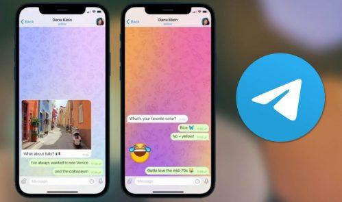 Cómo activar los fondos animados de Telegram para tener chats más coloridos