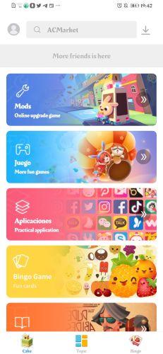 nueva forma de descargar aplicaciones en Android-ACMarket-Aptoide