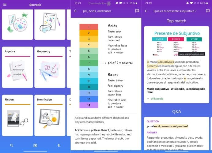 Socratic-apps para la vuelta la cole