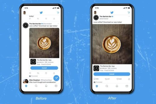 Twitter quiere cambiar la forma en que se ven las imágenes