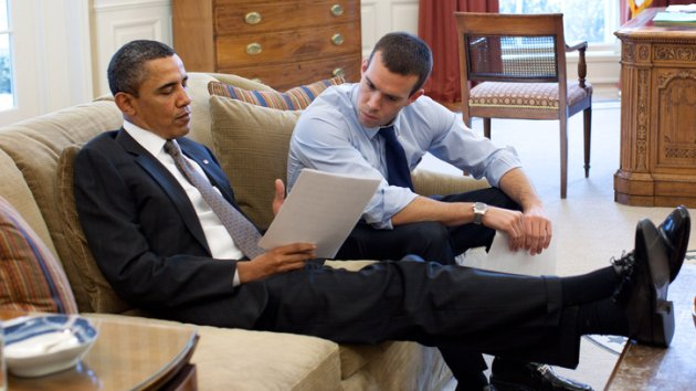 Lo speechwriter di Barack Obama Jon Favreau (Official White House Photo by Pete Souza)