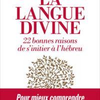La langue divine. 22 bonnes raisons de s'initier à l'hébreu de Julien Darmon