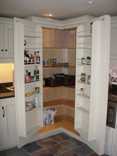 free standing kitchen cupboards table rug marc smith bespoke - larder