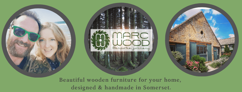 Marc and Rachel Wood run Marc Wood Bespoke Joinery from their Somerset workshop.
