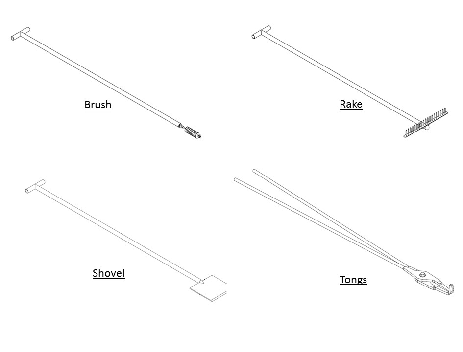 MARC Technologies » Pouring Tongs, Cupel Forks and Other
