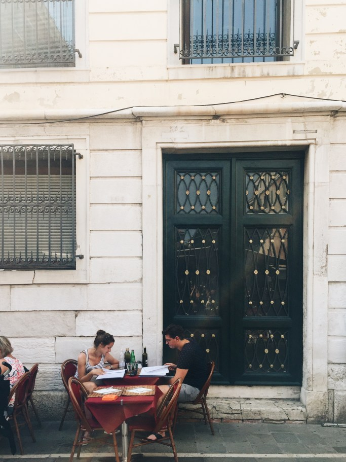 Lunch, Venice, Italy - Marcucci Photography