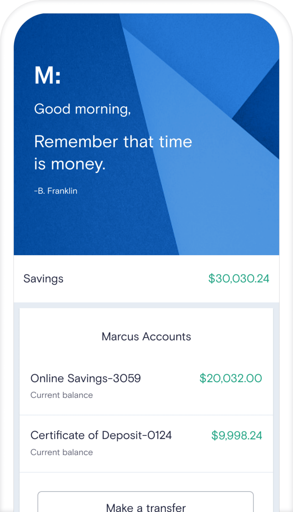 Online Banking Marcus By Goldman Sachs