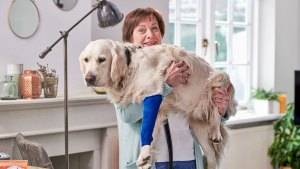Reaal animal care insurance with Beatrijs, Freek's mother