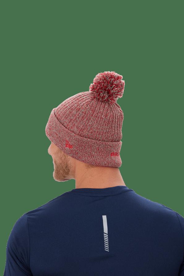 Bauer-Ne-Team-Marl-Pom-kotott-sapka-vilagosszurke-piros